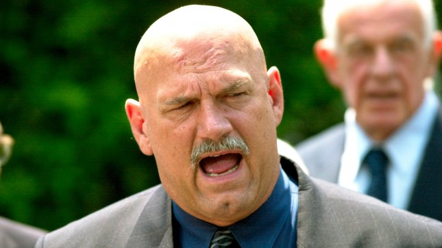 Friends of former Navy SEAL Chris Kyle rallied to his defense in a defamation suit filed by ex-Minnesota Gov. Jesse Ventura (pictured) over his portrayal in Kyle's memoir. 2000 file photo. UPI/Joel Rennich