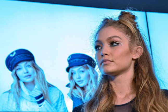 Model Gigi Hadid attends the launch of her Tommy X Gigi collection at Tommy Hilfiger Omotesando in Tokyo, Japan, on October 12, 2016. Photo by Keizo Mori/UPI
