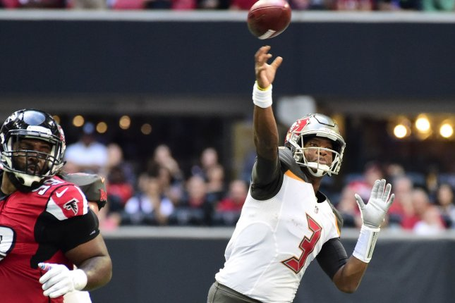 Jameis Winston and the Tampa Bay Buccaneers face the New Orleans Saints on Sunday. Photo by David Tulis/UPI