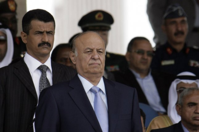 Yemen's former President Abed Rabbo Mansour Hadi fled the capital for his hometown after rebels let him go. Photo by Mohammad Abdullah/UPI