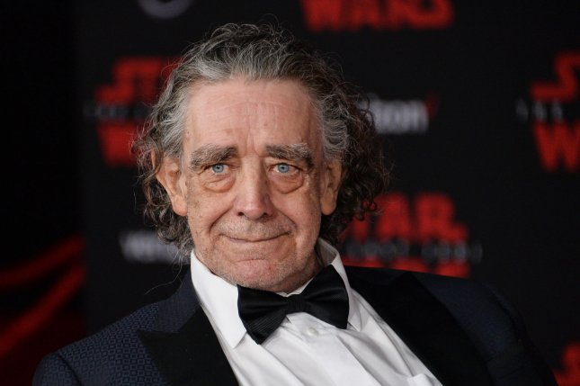 Star Wars actor Peter Mayhew died Tuesday at his home in North Texas. Photo by Jim Ruymen/UPI