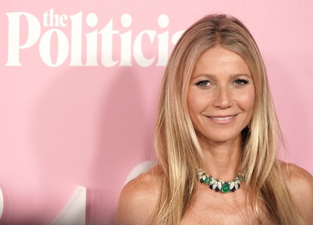 Gwyneth Paltrow shared a nude photo of herself in honor of her 48th birthday Sunday. File Photo by Jemal Countess/UPI