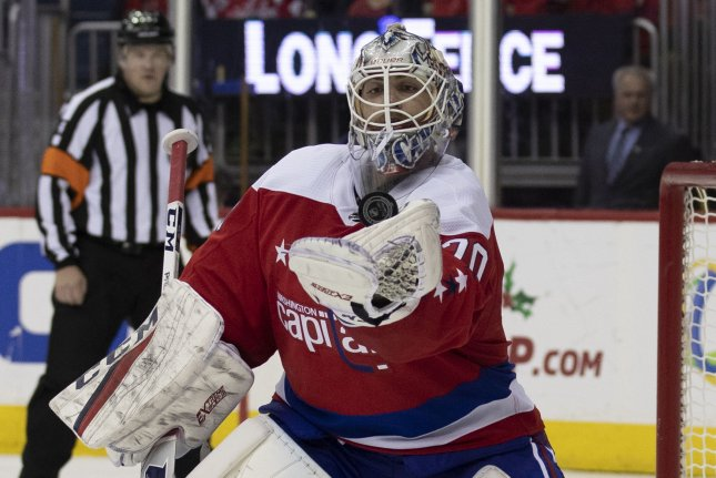 the best attitude d40d6 c797d Capitals' Braden Holtby returns to practice, expects to play ...