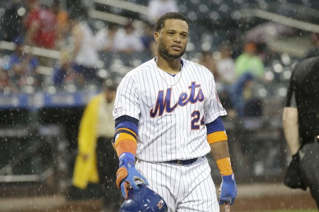 All-Star second baseman Robinson Cano is in his first year with the New York Mets. File Photo by John Angelillo/UPI