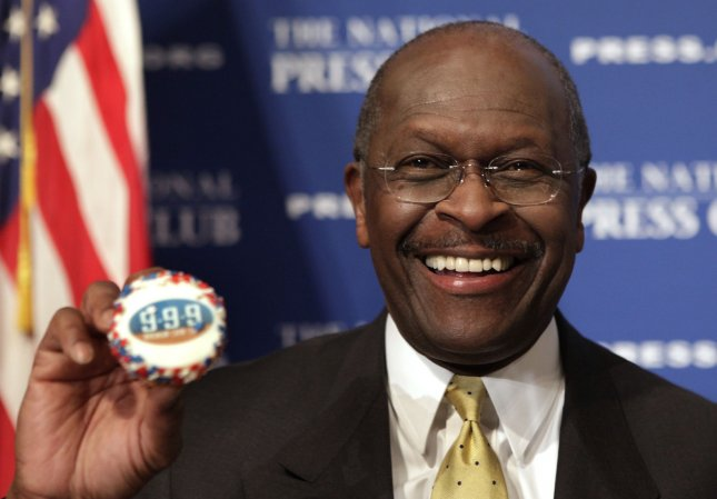 Former Republican presidential contender Herman Cain Tuesday called U.S. President Barack Obama's State of the Union address a hodgepodge of liberal ideas. UPI/Yuri Gripas