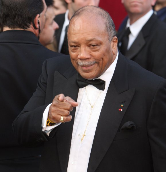 Quincy Jones arrives for the 80th Annual Academy Awards at the Kodak Theatre in Hollywood, California on February 24, 2008. (UPI Photo/Terry Schmitt)
