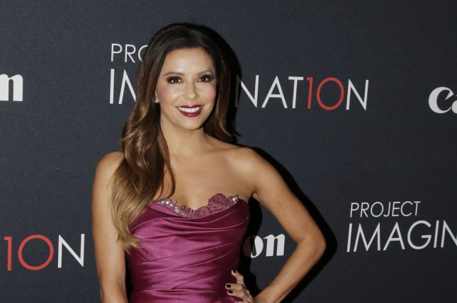 Eva Longoria arrives on the red carpet at the premiere of Canon's Project Imaginat10n Film Festival at Alice Tully Hall in New York City. UPI/John Angelillo