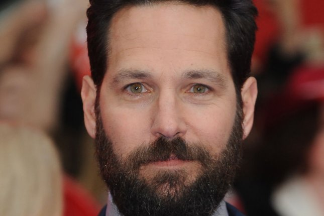American actor Paul Rudd attends the premiere of Captain America: Civil War in London on April 26, 2016. Photo by Paul Treadway/ UPI