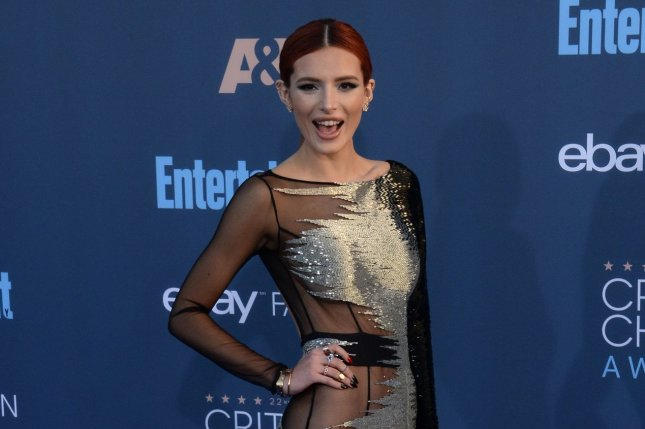 Bella Thorne voiced her love for Mod Sun on Instagram after calling it quits with the Amen rapper. File Photo by Jim Ruymen/UPI