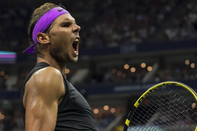 Rafael Nadal, of Spain, is attempting to win his fourth U.S. Open title after beating Marin Cilic in the quarterfinals of the 2019 Grand Slam tournament Monday in Queens. Photo by Ray Stubblebine/UPI