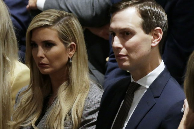 Ivanka Trump and Jared Kushner have been named as part of the U.S. delegation to this month's World Economic Forum in Davos, Switzerland. File photo by John Angelillo/UPI