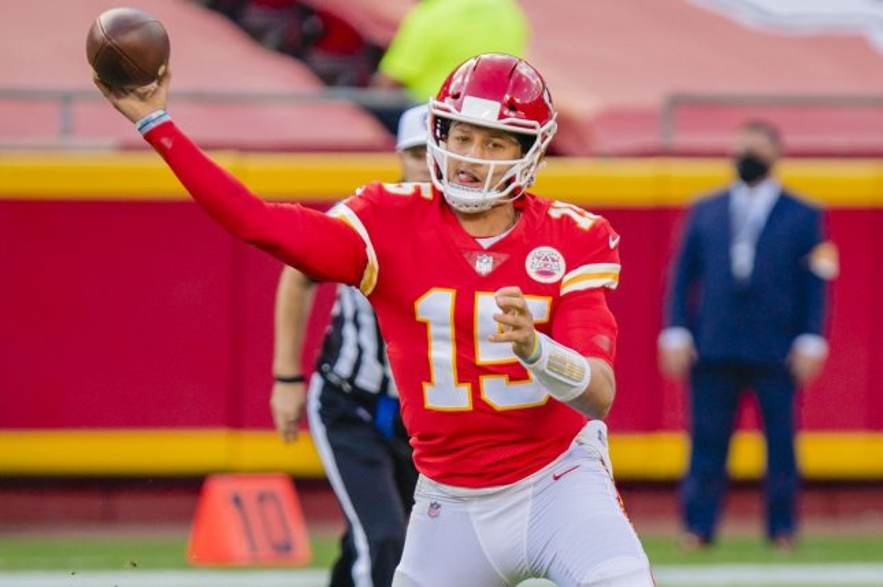 Kansas City Chiefs quarterback Patrick Mahomes is my No. 1 fantasy football option at his position for Week 11. File Photo by Kyle Rivas/UPI