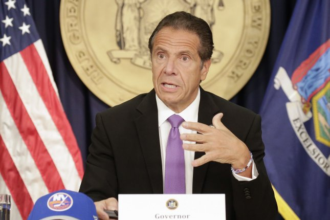 New York Gov. Andrew Cuomo denied allegations he sexually assaulted an aide at the Executive Mansion. File Photo by John Angelillo/UPI
