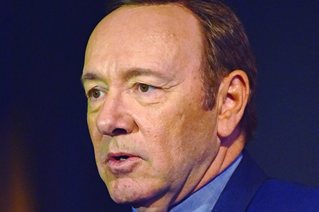 A federal judge ruled that a man identified only by the initials C.D. who accused Kevin Spacey of sexual assault in 1981 must reveal his identity for civil proceedings against the actor to continue. File Photo by Christine Chew/UPI