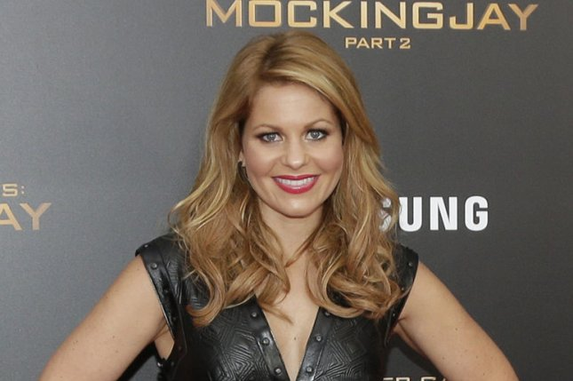 Candace Cameron Bure at the New York premiere of The Hunger Games: Mockingjay - Part 2 on November 18, 2015. File Photo by John Angelillo/UPI