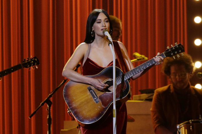 Kacey Musgraves appeared in the latest edition of Jimmy Kimmel Live's Mean Tweets alongside Rascal Flatts and other country stars. File Photo by John Angelillo/UPI