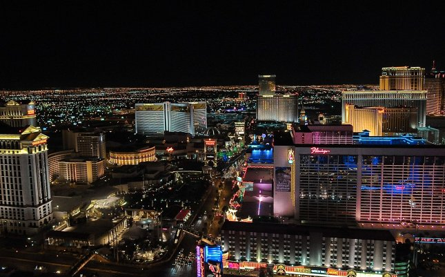 Priceline.com says hotel booking requests suggest Las Vegas, Chicago and New York City are the top destinations for travelers this Memorial Day weekend. File photo. UPI/Alexis C. Glenn