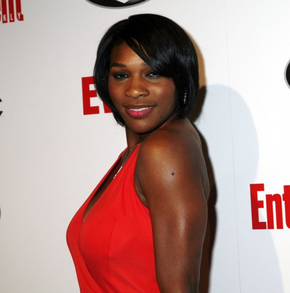 Tennis star Serena Williams arrives for the Entertainment Weekly Grammy after-party in West Hollywood, California on February 10, 2008. (UPI Photo/David Silpa)