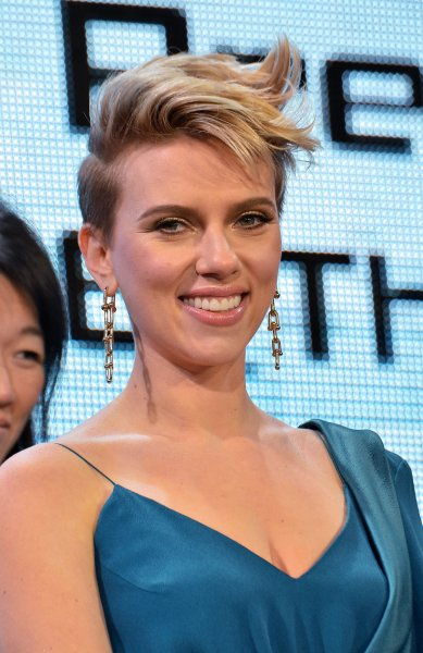 Scarlett Johansson attends the world premiere of Ghost in the Shell in Tokyo, Japan on March 16. File Photo by Keizo Mori/UPI