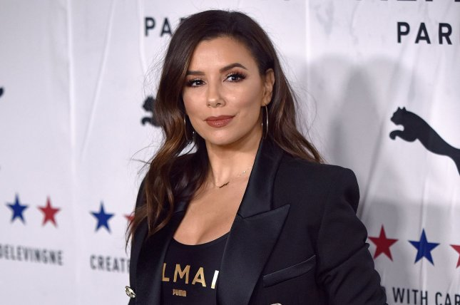 Eva Longoria will develop a new ABC series with Grace Parra Janney and Josh Bycel. File Photo by Chris Chew/UPI