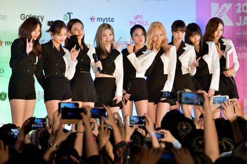 Twice will perform their debut English-language single Oct. 1 on The Tonight Show starring Jimmy Fallon. File Photo by Keizo Mori/UPI