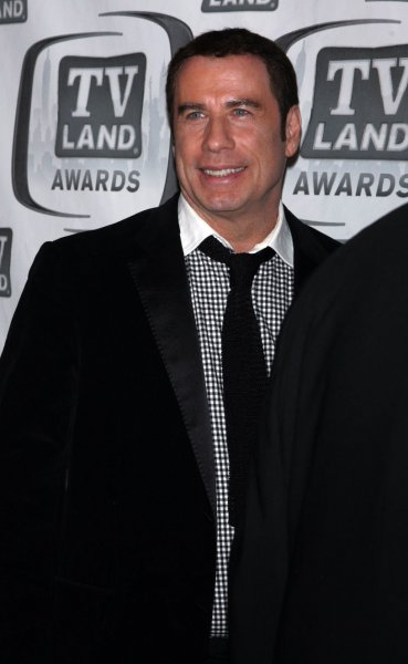 Actor John Travolta, who was turned away after trying to reserve a table at a British KFC. UPI /Laura Cavanaugh