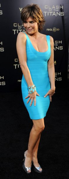 Actress Lisa Rinna attends the premiere of the motion picture adventure fantasy Clash of the Titans, at Grauman's Chinese Theatre in the Hollywood section of Los Angeles on March 31, 2010. UPI/Jim Ruymen