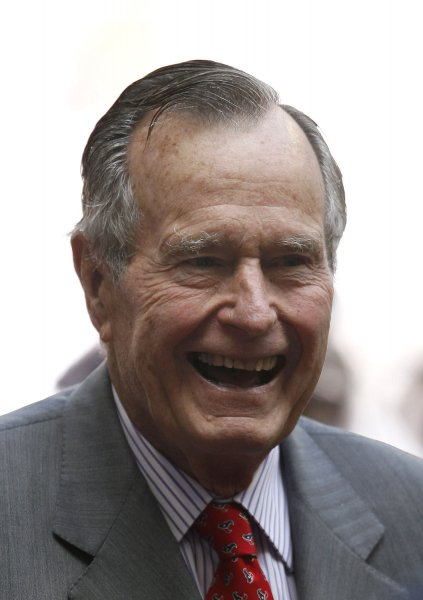 Former U.S. President H.W. Bush (UPI Photo/Aaron M. Sprecher)