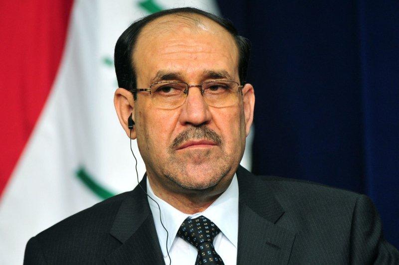 Iraqi Prime Minister Nouri al-Maliki on December 12, 2011. (UPI/Kevin Dietsch)