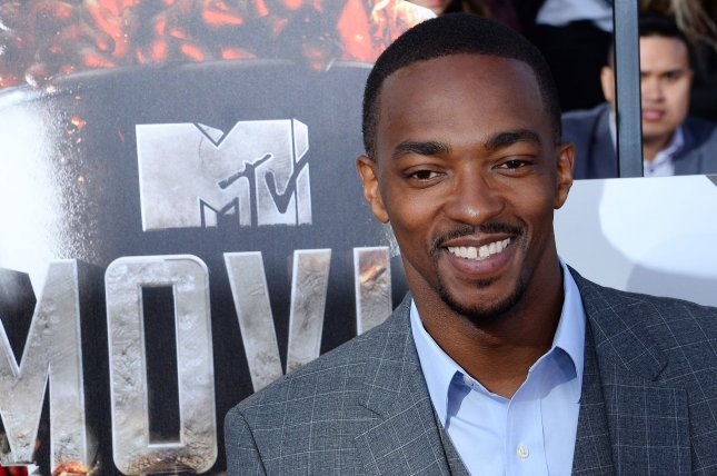 Actor Anthony Mackie arrives for The MTV Movie Awards in Los Angeles last year. He has been cast as MLK in upcoming HBO adaptation of All The Way. File Photo by Jim Ruymen/UPI