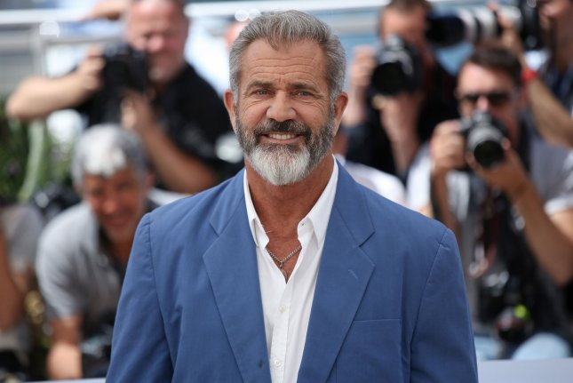 Mel Gibson arrives at a photocall for the film Blood Father during the 69th annual Cannes International Film Festival in Cannes, France on May 21, 2016. Gibson has confirmed that he is developing a follow-up to The Passion of the Christ. File Photo by David Silpa/UPI