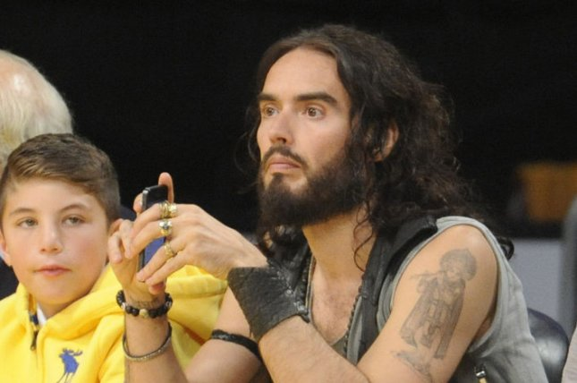 Russell Brand is taping a new comedy special for Netflix this spring. File Photo by Lori Shepler/UPI