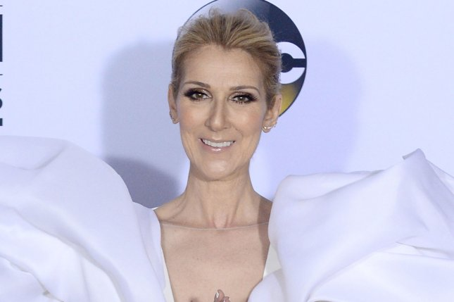 A film about the life of Celine Dion, pictured here, is in development at French studio Gaumont. File Photo by Jim Ruymen/UPI