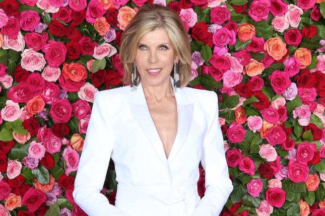 The Good Fight star Christine Baranski arrives for 72nd Annual Tony Awards on June 10. The Good Fight Season 4 will premiere in April. File Photo by Serena Xu-Ning/UPI