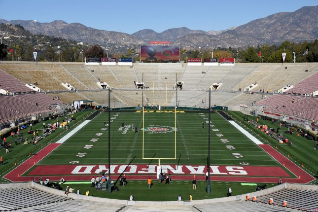 No fans will be allowed to attend games on Pac-12 campuses. The conference said it will revisit that decision in January. File Photo by Juan Ocampo/UPI