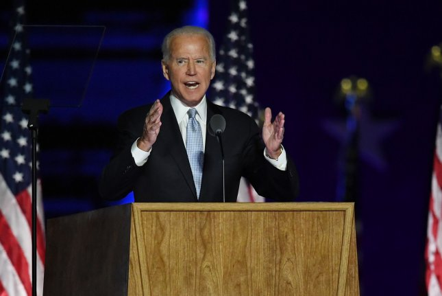 President-elect Joe Biden gained 132 votes in Milwaukee County's recount, which the Milwaukee County Board of Canvassers certified Friday evening. File Photo by Pat Benic/UPI