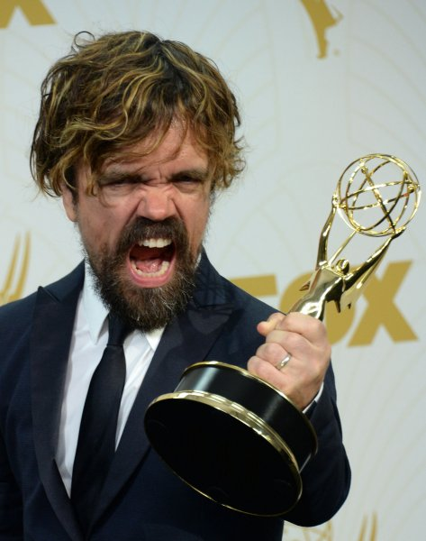 Game of Thrones actor Peter Dinklage in a 2015 file photo by Jim Ruymen/UPI