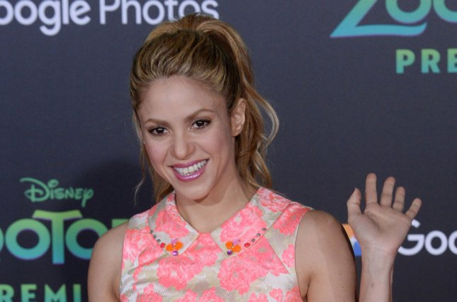 Shakira attends the premiere of Zootopia at the El Capitan Theatre in the Hollywood section of Los Angeles on February 17, 2016. The singer turns 41 on February 2. File Photo by Jim Ruymen/UPI
