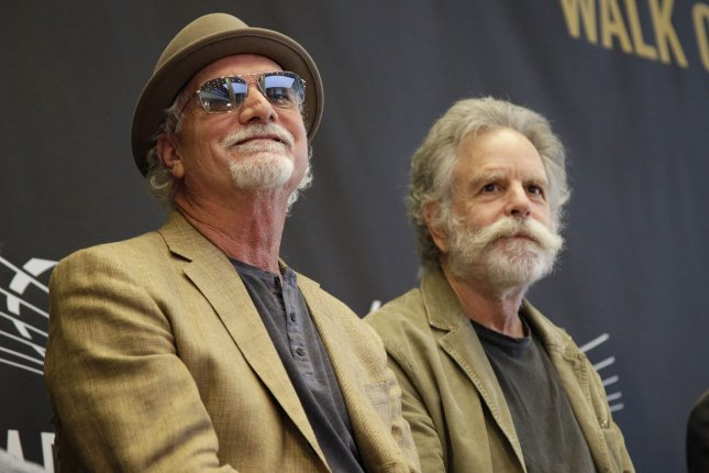 Bill Kreutzmann (L) and Bob Weir of the Grateful Dead. Z2 Comics has announced a new comic book based on the band. File Photo by John Angelillo/UPI
