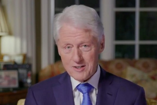 Former President Bill Clinton has started a new podcast with iHeartMedia. File Photo by UPI
