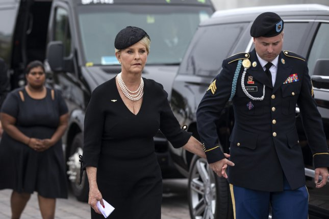 President Joe Biden nominated four ambassadors Wednesday including Cindy McCain to serve as U.S. representative to the United Nations Agencies for Food and Agriculture. Photo by Jim Lo Scalzo/UPI