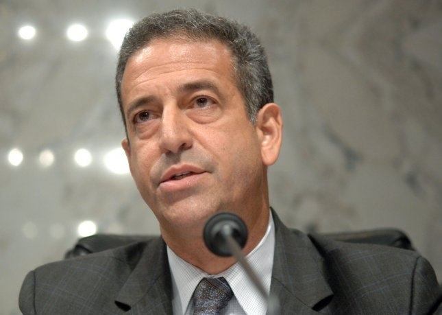 Former Sen. Russ Feingold, D-Wis., named special representative for Africa's Great Lakes Region and the Democratic Republic of Congo. 2007 file photo. (UPI Photo/Kevin Dietsch)