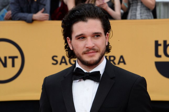 Actor Kit Harington arrives for the 21st annual SAG Awards on January 25, 2015. Harington has been cast as the main villian in Call of Duty: Infinite Warfare. File Photo by Jim Ruymen/UPI