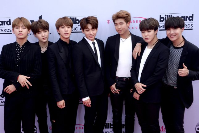 BTS reached 300 million views on YouTube with its Mic Drop remix video. File Photo by Jim Ruymen/UPI