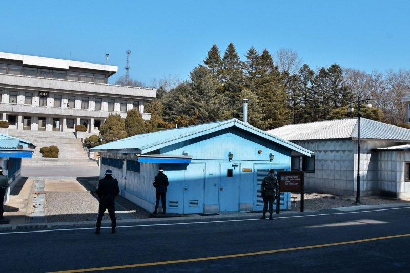 A South Korean man was repatriated from North Korea on Tuesday at Panmunjom. Photo by Keizo Mori/UPI