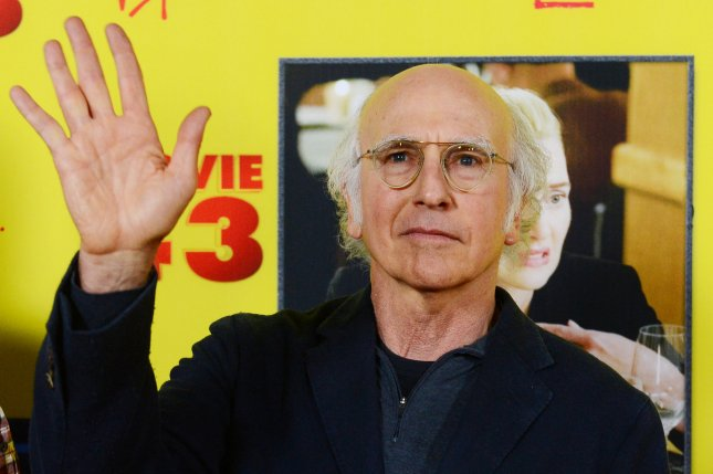 Larry David's HBO series Curb Your Enthusiasm helped scientists study the way the human brain processes time. File Photo by Jim Ruymen/UPI