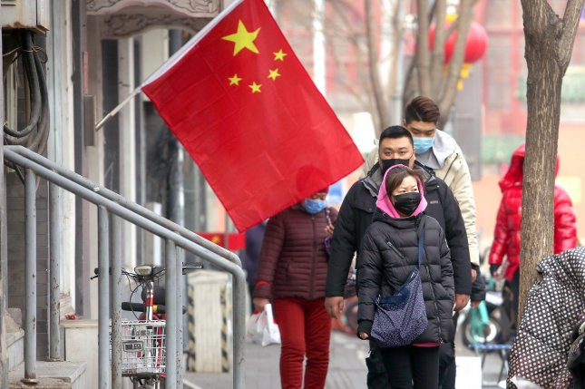Chinese authorities are requiring Wuhan residents to undergo multiple COVID-19 tests, according to local news media. File Photo by Stephen Shaver/UPI