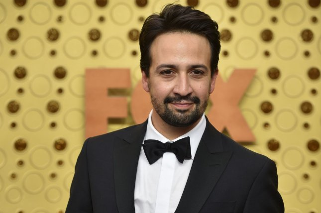 The 2015 cast album for Lin-Manuel Miranda's Broadway musical Hamilton is No. 2 on this week's Billboard 200 album chart. File Photo by Christine Chew/UPI