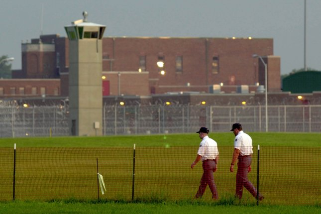 An exterior view of the federal penitentiary in Terre Haute, Ind., whereAlfred Bourgeois was executed Friday. File Photo by Mark Cowan/UPI