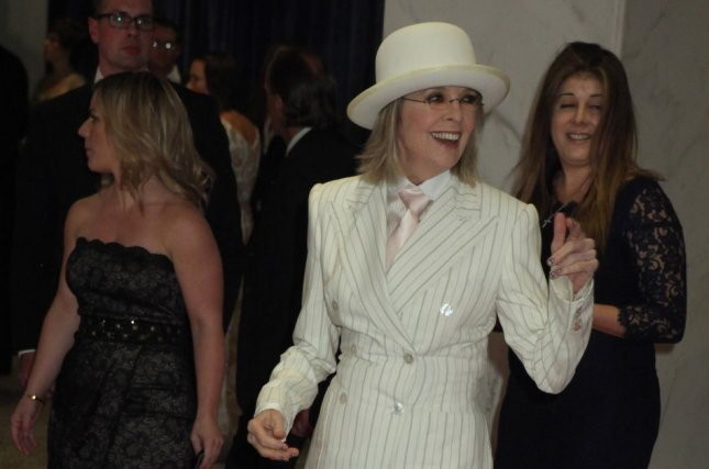 Actress Diane Keaton arrives at the White House Correspondents' Association Dinner in Washington, DC on April 28, 2012. File Photo by Chris Kleponis/UPI